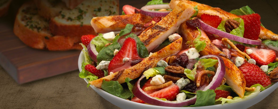 Montana Mike's Strawberry Salad