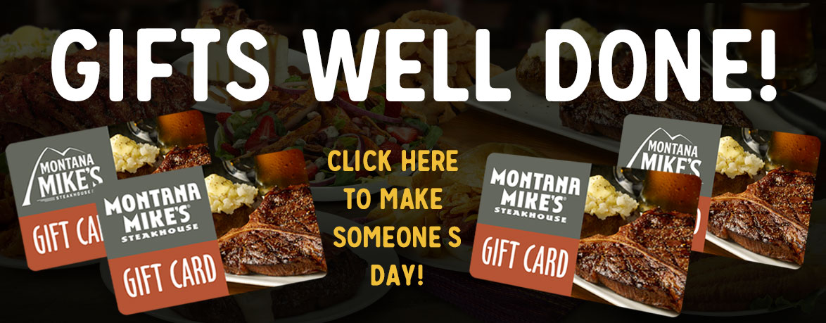 Montana Mike's Gift Cards