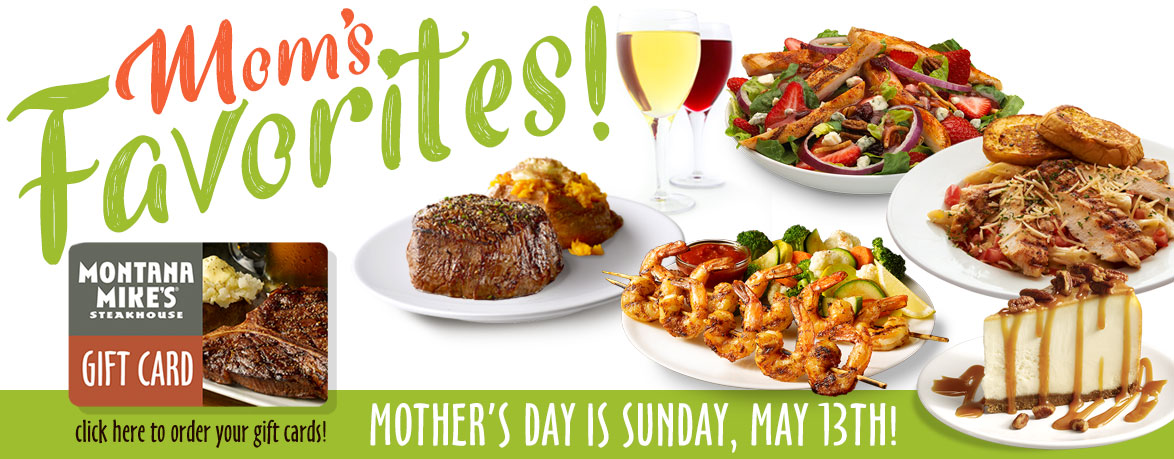 Mom's Favorites - Mother's Day Gift Cards