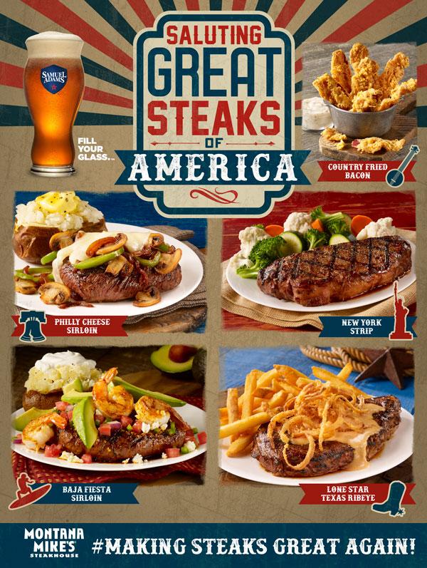 Saluting Great Steaks of America