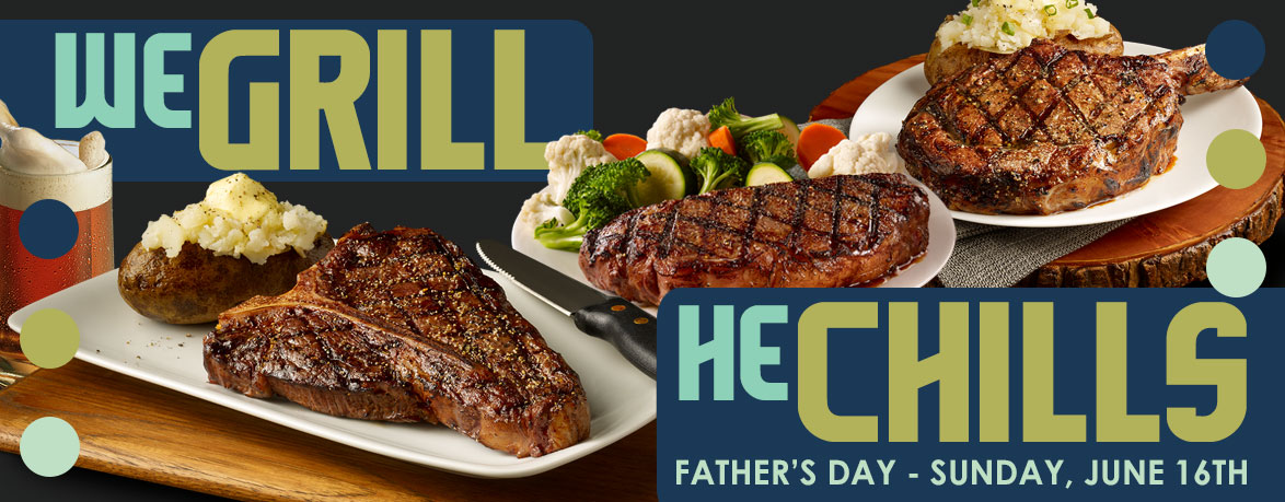 We Grill - He Chills - Father's Day 2019