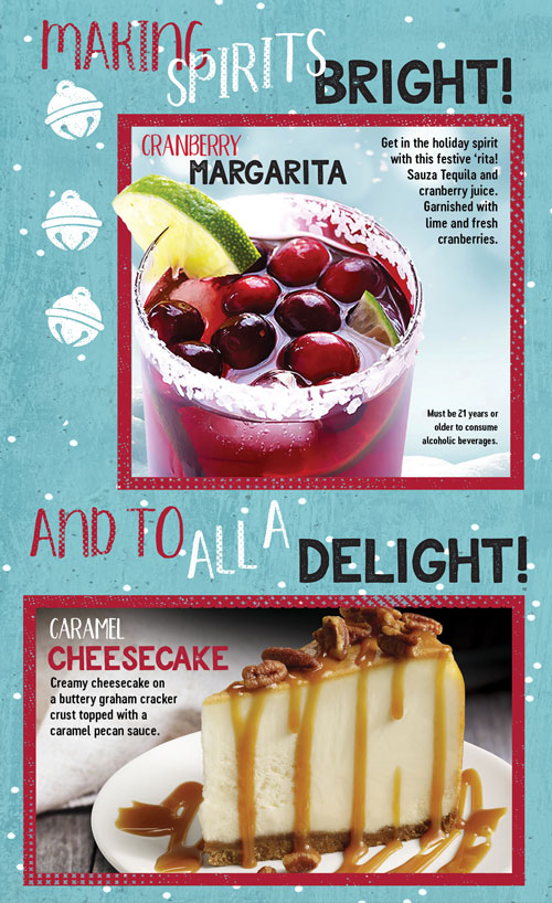 Making Spirits Bright - Holiday Drinks and Desserts