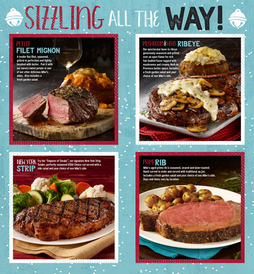 Sizzling All The Way - Holiday Steaks